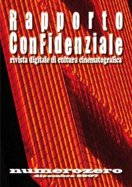 Rapporto Confidenziale - numerozero - cover