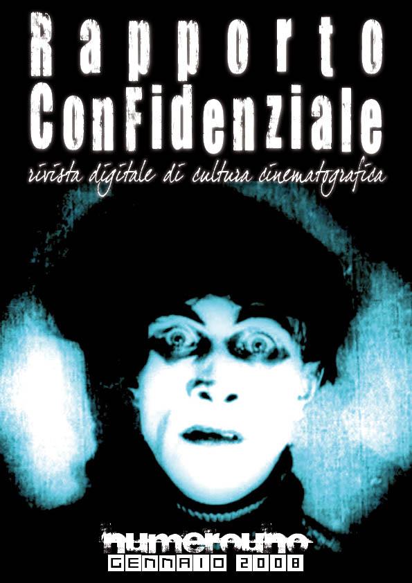 Rapporto Confidenziale - numerouno - gennaio 2008 (copertina)