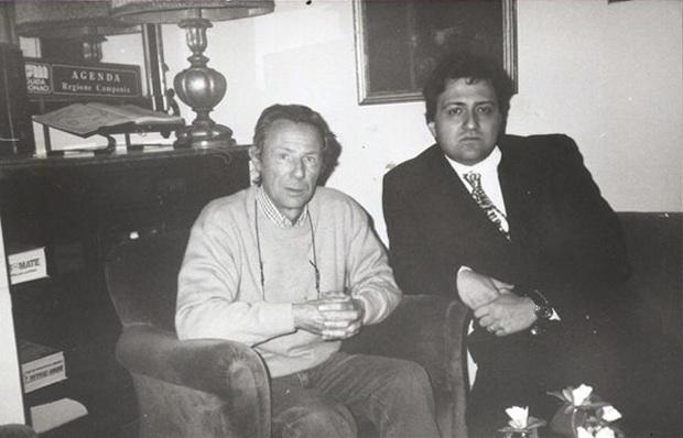 Bruno Bozzetto e Mario Verger