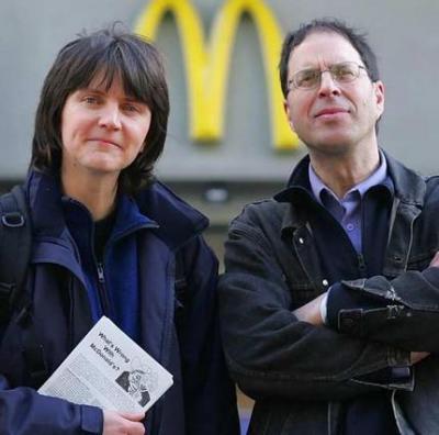 Helen Steel e Dave Morris