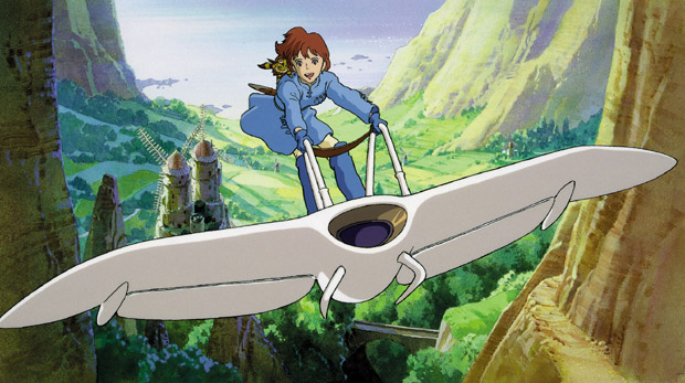 Nausicaä of the Valley of the Wind di Hayao Miyazaki