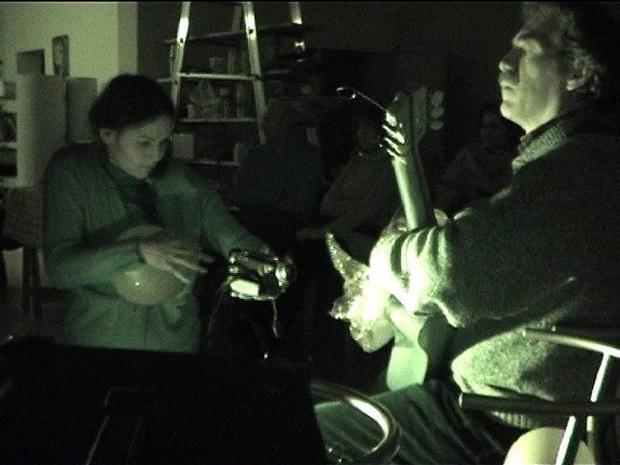 Tuia Chierici e Eugenio Sanna, 5 marzo 2009, Studio 149,  Cascina (Pisa). Foto: Lorena Sireno