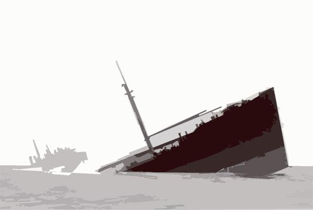 Pendleton_Sinking