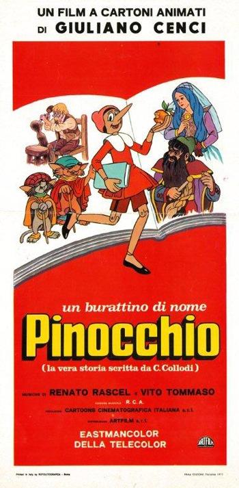 Un Burattino Di Nome Pinocchio - versione restaurata e rimasterizzata (1972).AVI DVDRIP MP3 ITA