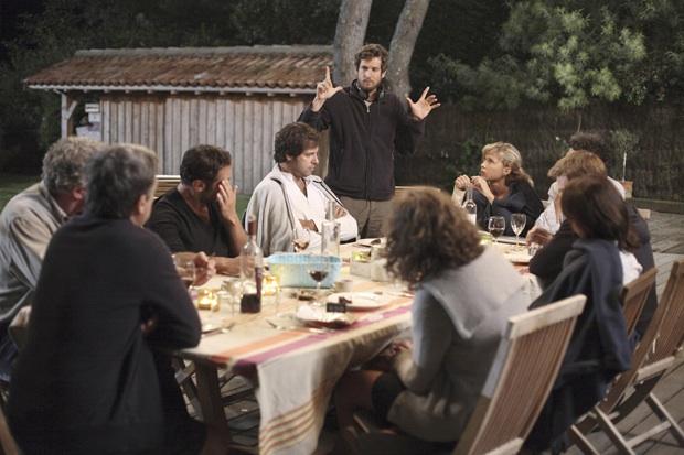 Guillaume Canet dirige una scena