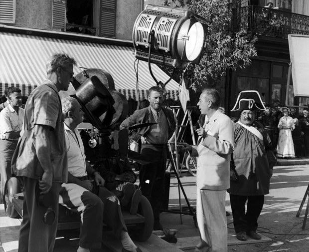 """Minnelli sul set di """"Lust for Life"""" con Kirk Douglas"""