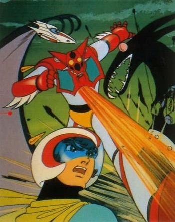 Getter Robot e Getter Robot G, Toei, 19748