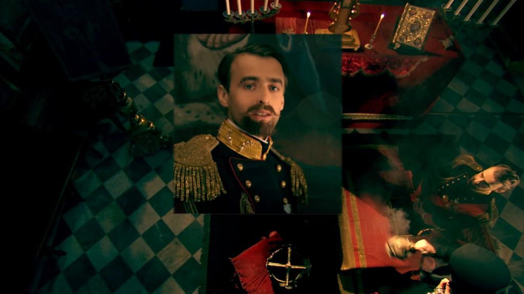 RASPUTIN by Louis Nero - The Zar Nicola II (The actor Angelo Santamaria)