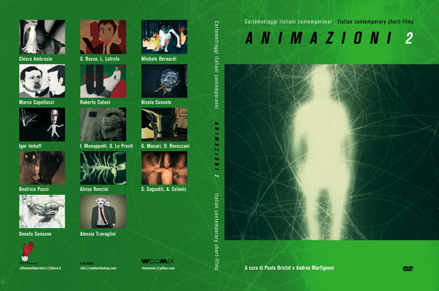 Animazioni 2 - cover dvd