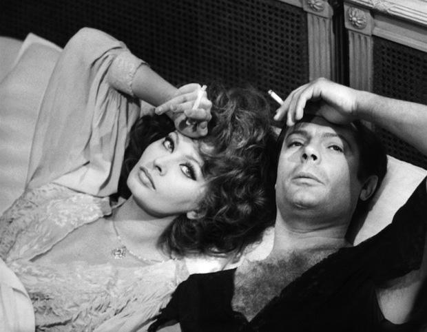 """Sophia Loren in """"Matrimonio all'Italiana"""""""