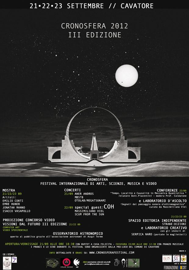 Manifesto Cronosfera 2012