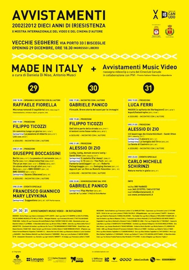 Avvistamenti_Made in Italy201202