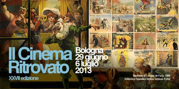 Il Cinema Ritrovato 2013