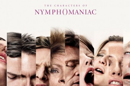 Lars von Trier, Casper Sejersen | Nymph()maniac characters' posters