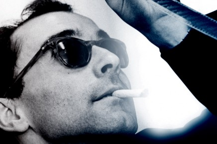 In conversation with Jean-Luc Godard. Filmmaker extraordinaire