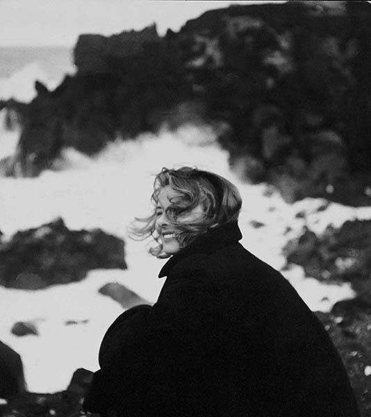 Federico Patellani, Stromboli, 1949, Ingrid Bergman