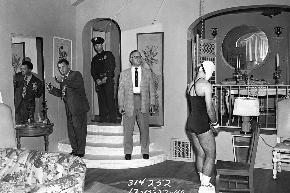Suicidio, 15 dicembre, Hollywood © 2015 Los Angeles Police Museum