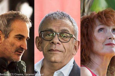 Locarno 70 // Olivier Assayas, Yousry Nasrallah e Sabine Azéma, Presidenti di giuria