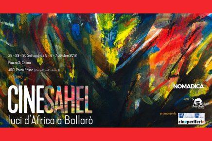 CINESAHEL. Luci d'Africa a Ballarò