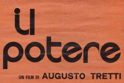 """""""Il potere"""" di Augusto Tretti (1971)"""